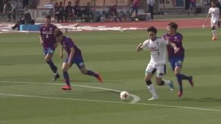 2017年4月22日(土)に行われた明治安田生命J1リーグ 第8節 甲府vsC...