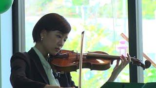 映画『あのこは貴族』石橋静河がヴァイオリンを猛練習!演奏シーン<メイキング映像>