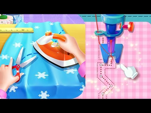 Little Tailor 2 | Baby Fashion Tailor 2 | Design & Sewing Clothes Game