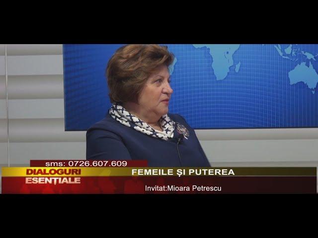 DIALOGURI ESENTIALE: FEMEILE ȘI PUTEREA