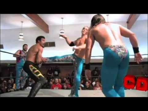 Kevin Steen & Young Bucks vs AR Fox,Ricochet,&Rich Swann All Star Weekend X
