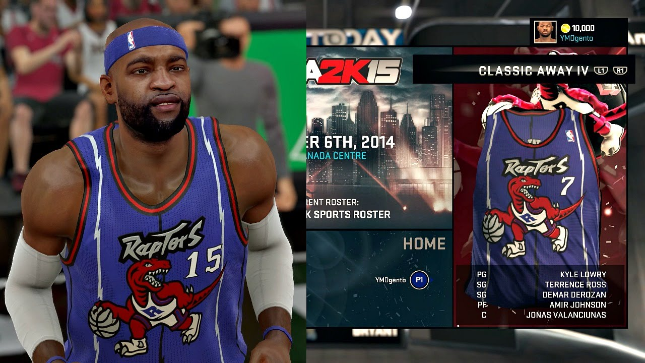 Nba 2k15 All Nba Throwback Jerseys Youtube