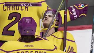 NHL 18 EASHL Threes Gameplay! (Top 10 Plays)