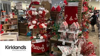 KIRKLANDS CHRISTMAS DECOR*NEW FINDS/SHOP WITH ME* HOLIDAY EDITION*