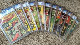 New Graded Comic Books - KEY ISSUES - CGC and CBCS Collection - 1st Appearances