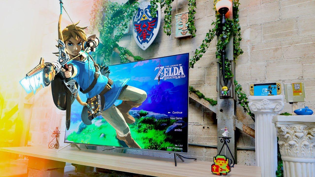 Nintendo Switch Ultimate Gaming Setup  Zelda Room  YouTube