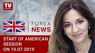 InstaForex tv news: 10.07.2019: USD making correctional decline (USD, CAD)