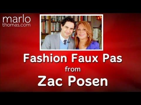 The Top Fashion Faux Pas from Zac Posen