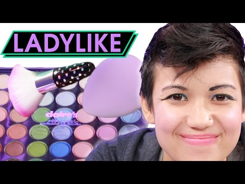 Thumbnail: Women Try The Kids' Makeup Challenge • Ladylike