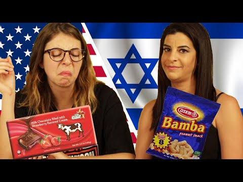 Americans & Israelis Swap Snacks