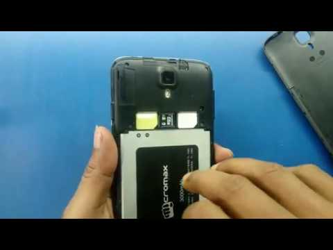 How to reset mobile micromax canvas A177