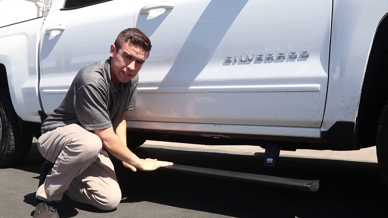 Amp Research Power Steps Automatic Running Boards For Trucks