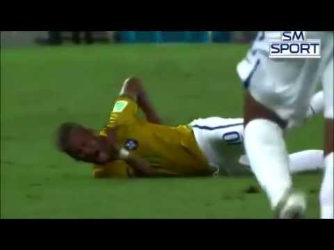 Neymar Back Injury Video. *Original Video*