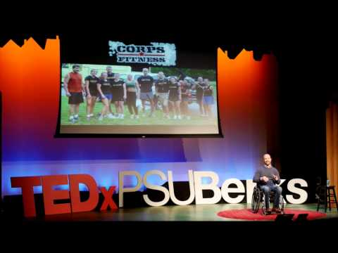 Improvise, Adapt & Overcome. Challenges are Stepping Stones Not Crutches | Chris Kaag | TEDxPSUBerks