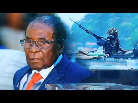 Zimbabwe's Ruling ZANU-PF party meeting to draft motion to dismiss Mugabe