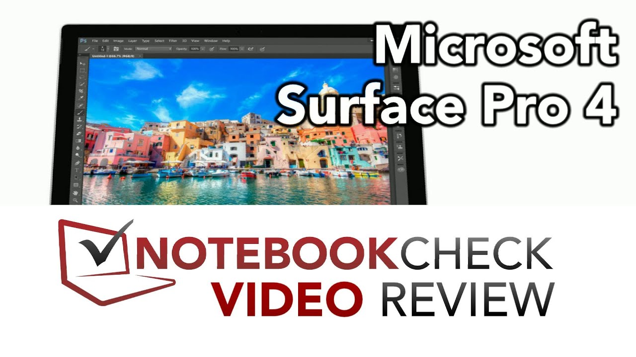 Microsoft Surface Pro 4 (Core m3) Tablet Review