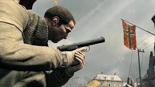 Sniper Elite V2: Elite Difficulty Gameplay & Stealth Pistol Kills