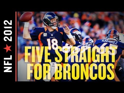Chargers at Broncos 2012: Denver Holds off the Chargers to Extend Division Lead, Broncos Win by 7