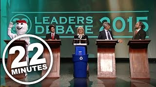 22 Minutes: Final Countdown - Leaders Debate 2015