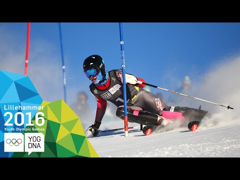 Alpine Combined - River Radamus (USA) wins Men's gold   Lillehammer 2016 Youth Olympic Games