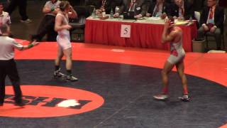 Harrison Williams vs Ryan Pitra (2) State Championships 2014