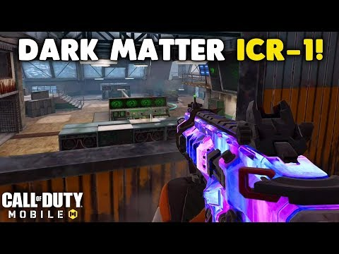 Unlocking The ICR-1 Dark Matter In Call Of Duty Mobile!