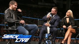 """Miz TV"" with special guest Dean Ambrose: SmackDown LIVE, Dec. 6, 2016"