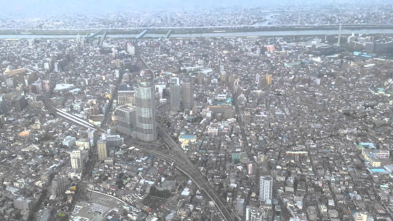 JapanForever In diretta dal Giappone - Panoramica Tokyo Sky Tree Tower