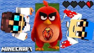 MINECRAFT SZPITAL - OPERACJA CZERWONEGO (Angry Birds 2)