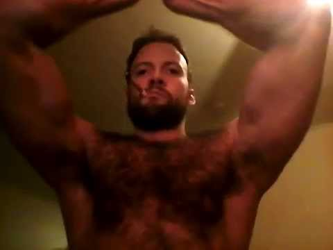 Think, naked hairy chested muscle men