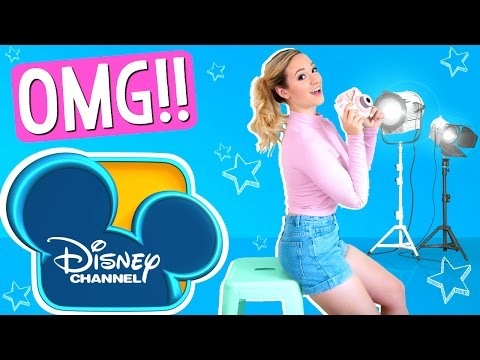 I'M GOING TO BE ON DISNEY CHANNEL!??!
