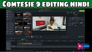 Comtesie 9 editing tutorial hindi || Comtesie 9 editing video tutorial hindi 2018