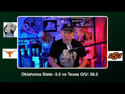 Oklahoma State vs Texas Free College Football Picks and Predictions CFB Tips Saturday 10/31/20