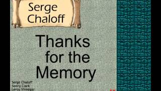 Serge Chaloff: Thanks for the Memory.