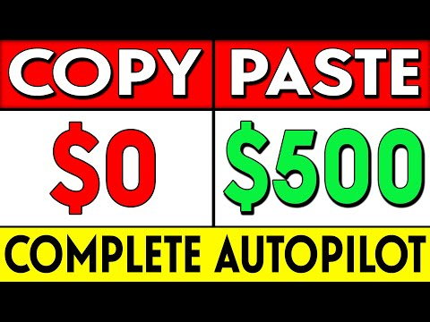 Earn $500 A DAY On AUTOPILOT!: How To Start Affiliate Marketing For FREE thumbnail