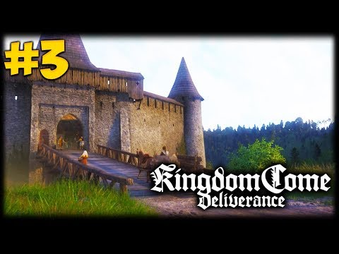 THE GOOD THIEF! Kingdom Come Deliverance Let's Play #3