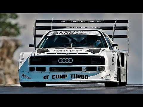 Best Of Audi Quattro On Hillclimb Racing 5 Cylinder Pure Sound Compilation