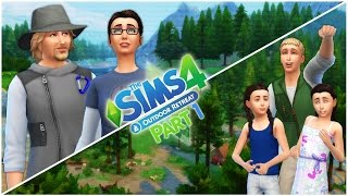 Let's Play the Sims 4 Outdoor Retreat (Part 1) The Wild Mayberrys