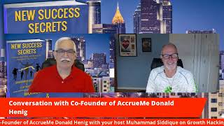 Conversation with Co-Founder of AccrueMe Donald Henig