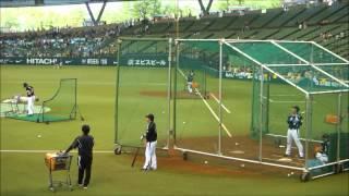 2012年6月14日 西武ドーム セ・パ交流戦 ライオンズvsタイガース バッセ...
