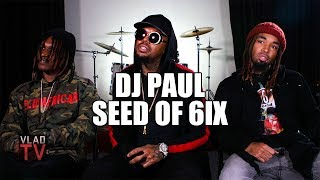 DJ Paul: Three 6 Mafia Were the One of the 1st to Rap About Coke and Syrup (Part 10)