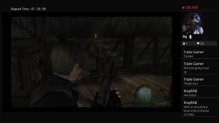Resident evil 4 game play
