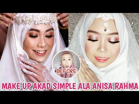 tutorial-make-up-akad-pengantin-syari-simple-ala-anisa-rahma-pake-produk-lokal-&-drugstore