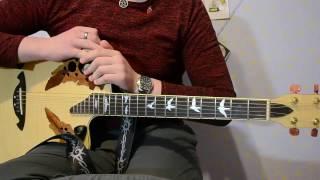 Adam Lambert - Mad World | Видео-урок/разбор на гитаре | Как играть(Разбор песни исполнителя Адама Ламберта