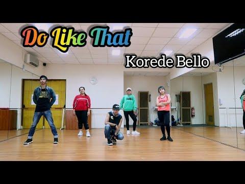 Korede Bello - Do Like That Choreography ZUMBA  FITNESS  DANCE  At PHKT Balikpapan