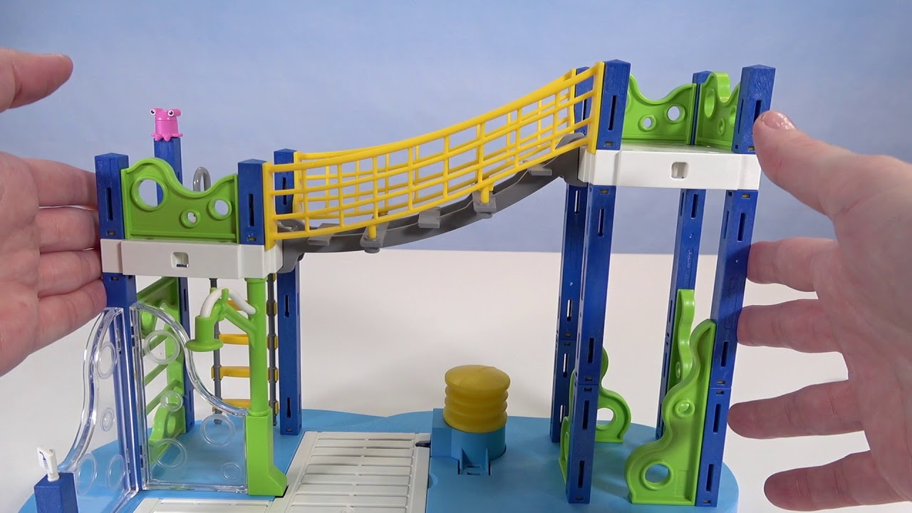 c3444960b PLAYMOBIL 6670 Water Park Play Area Playset  Unboxing - YouTube