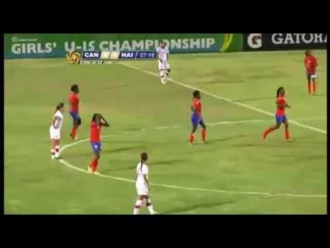 U15 - Under 15 - Girls - Concacaf 2014 Final - Haiti Vs Canada - Score 1-1 ( 1-4 penalty)