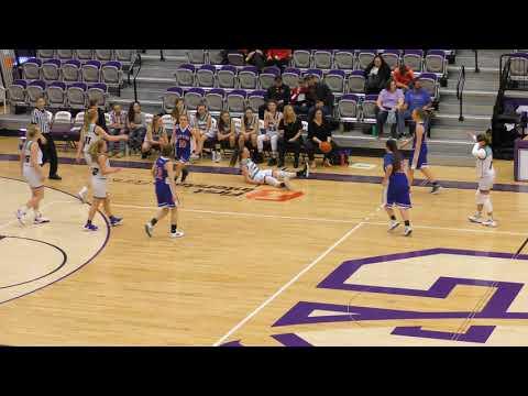 Varsity Girls   Tournament   Gallatin Valley Cougars vs Helena Christian School   01 20 2020