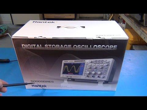 Hantek DSO5202P 200 MHz 2 Ch Oscilloscope Review
