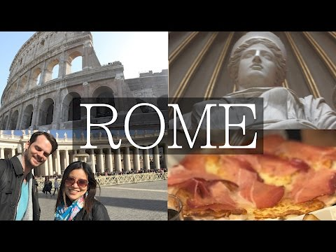 3 Days in Rome! Ultimate Vlog, Colosseum, Forum, Vatican, Food, Travel